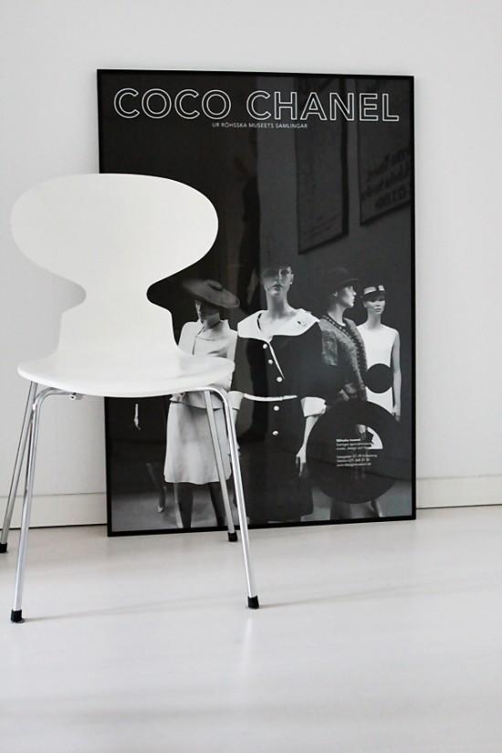 dansk m bel konst coco chanel roomofkarma. Black Bedroom Furniture Sets. Home Design Ideas
