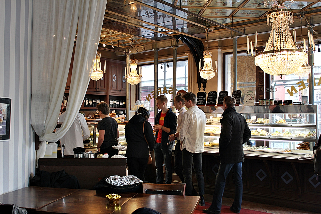Ett besök hos Cafe Husaren