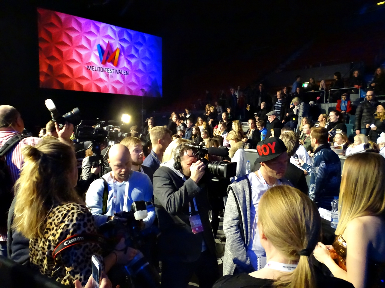 Melodifestivalen 2016 genrep