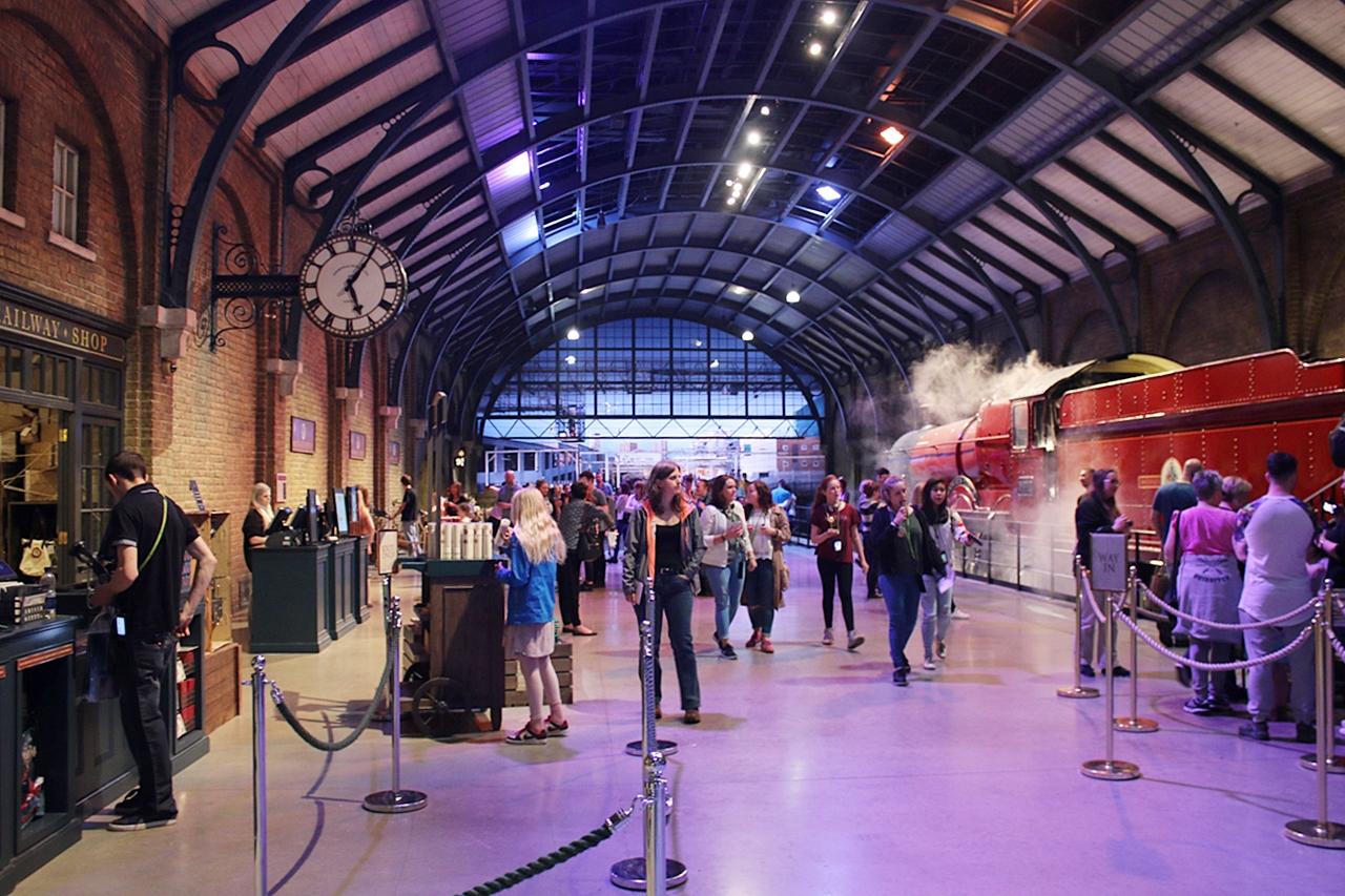 Harry Potter studio i London