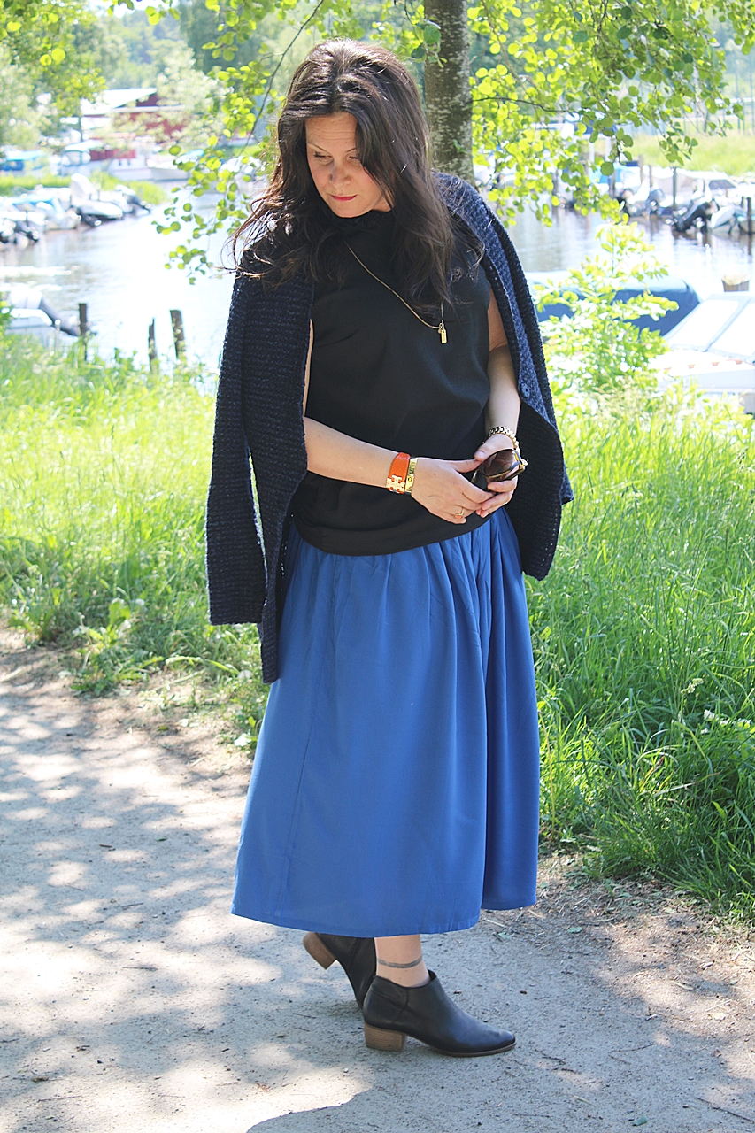 En dagens bloggerska