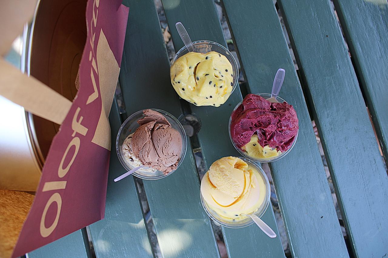 Världens bästa glass på Olof Viktors