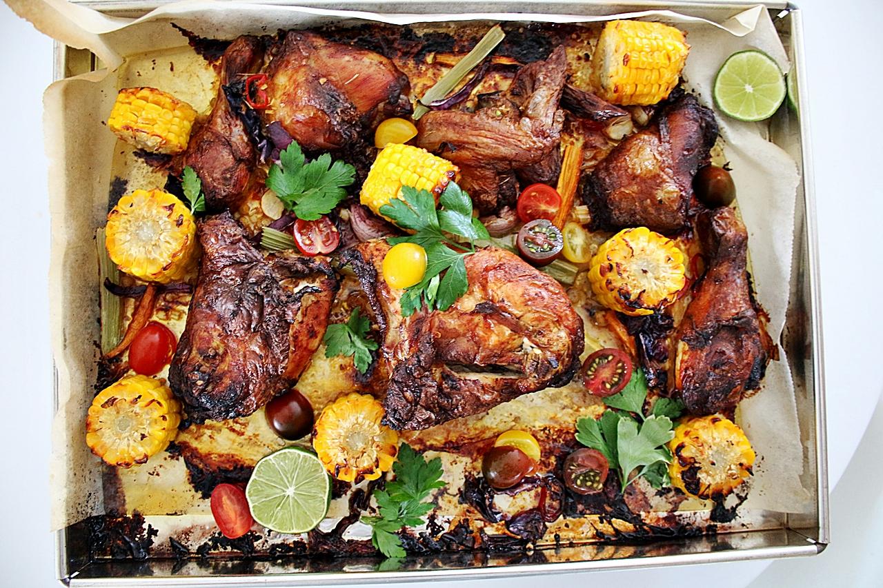 grönsaker till kyckling
