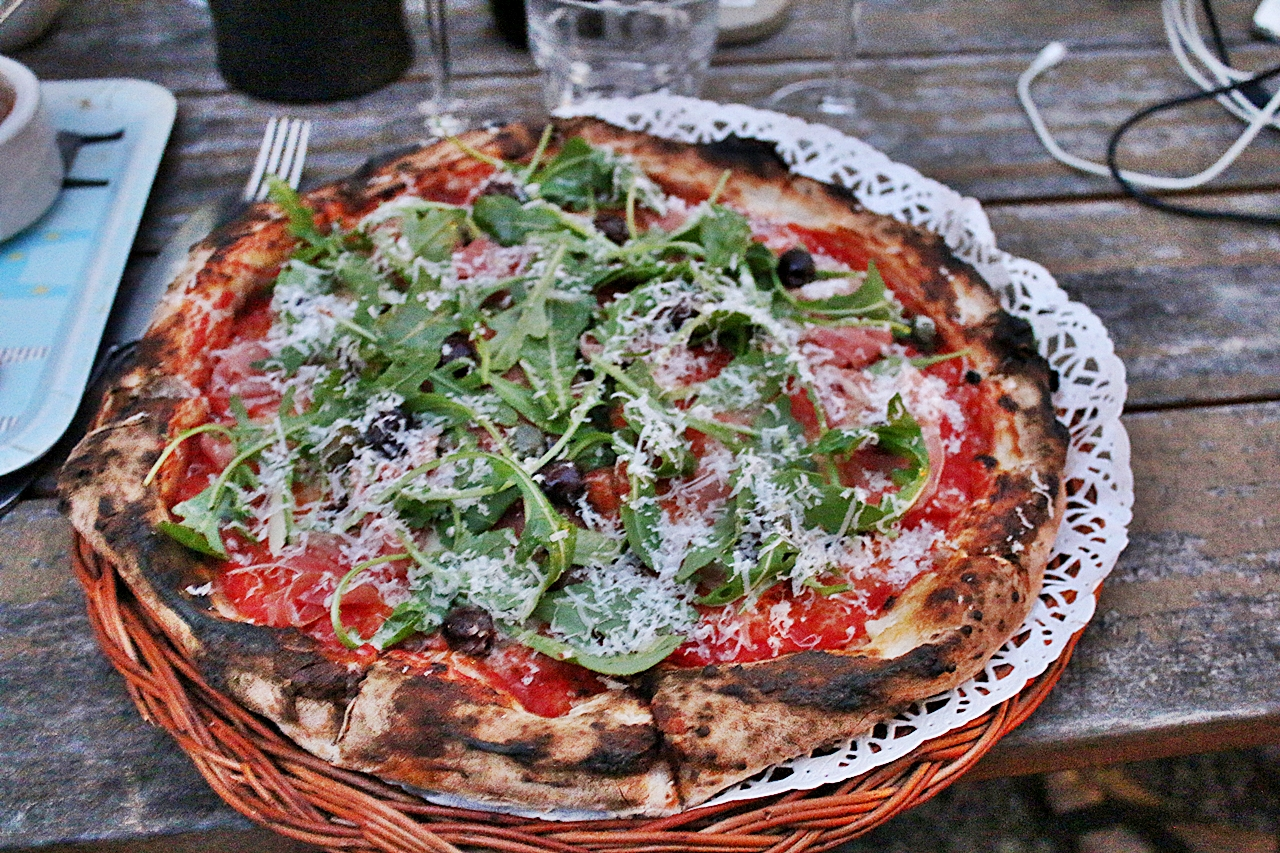 Pizza på Mölle Krukmakeri
