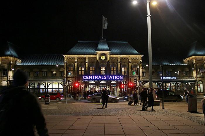 Salt och sill på Central stationen