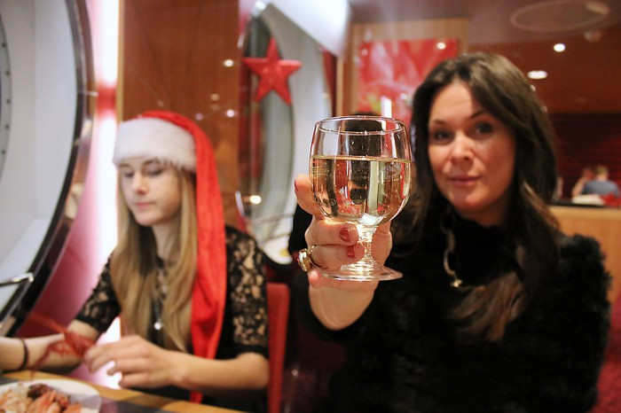 Att ha julbord på Stena Germanica