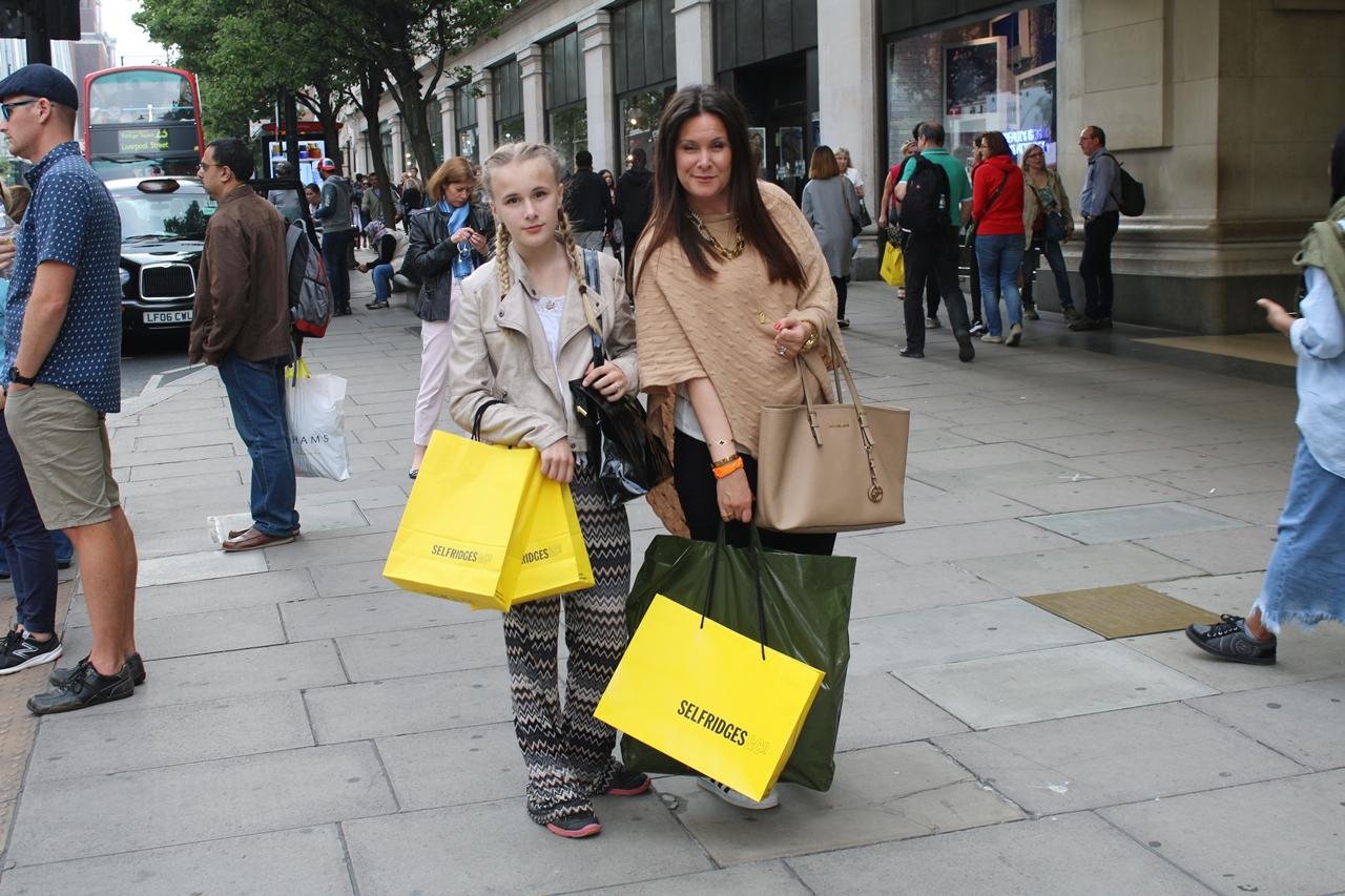 Kommer det bli en mor och dotter resa till London i år igen
