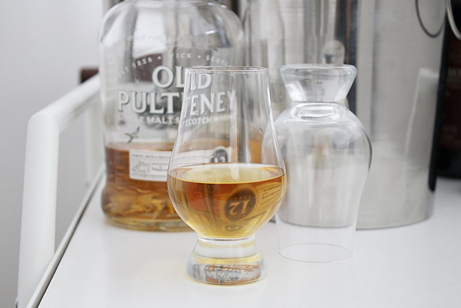 Snygg design på whiskyglas