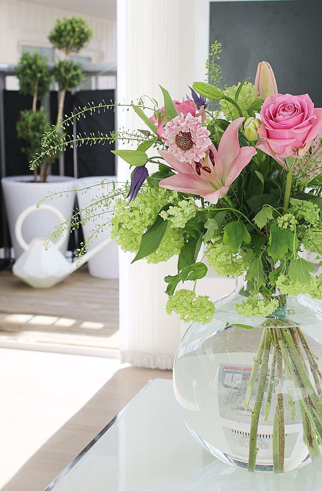 Helgens blommor från Interflora