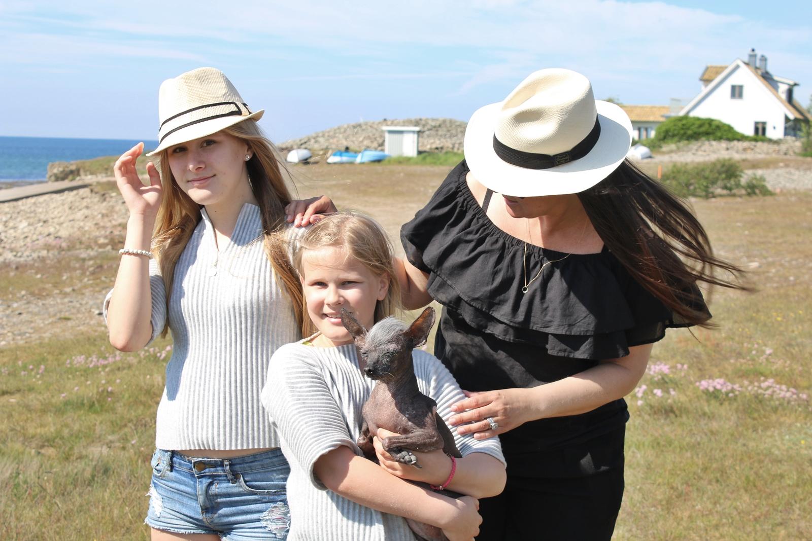 En helg i bilder från Torekov med familjen