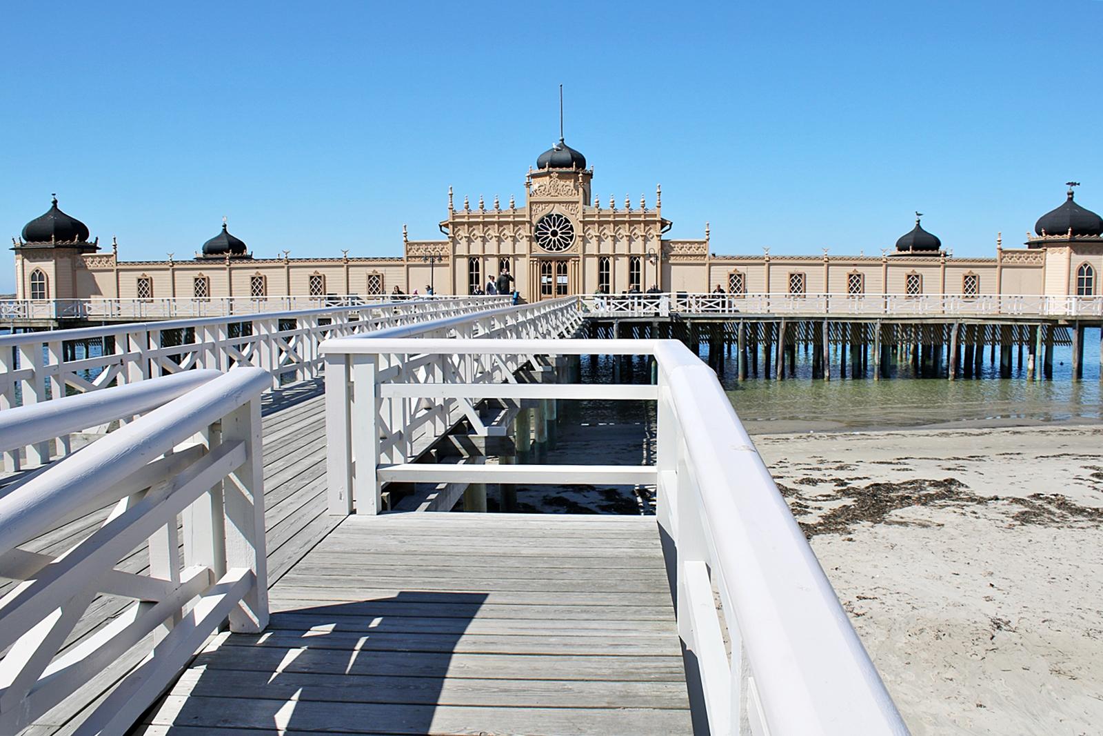Vad jag inte viste om vackra kallbadhuset i Varberg