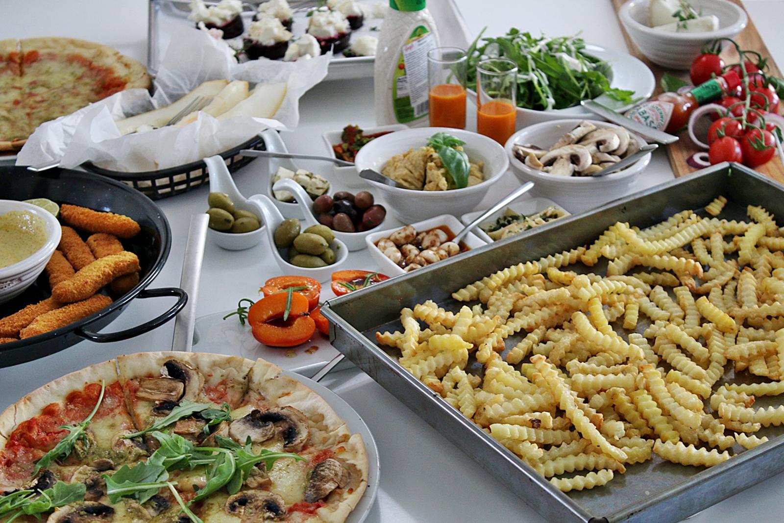 Streat Food med 4 i köket
