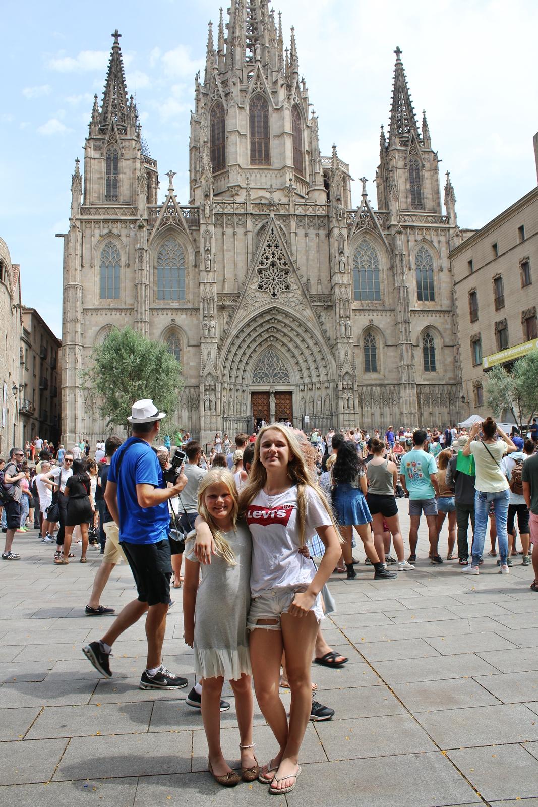 Resan fortsatte till Barcelona
