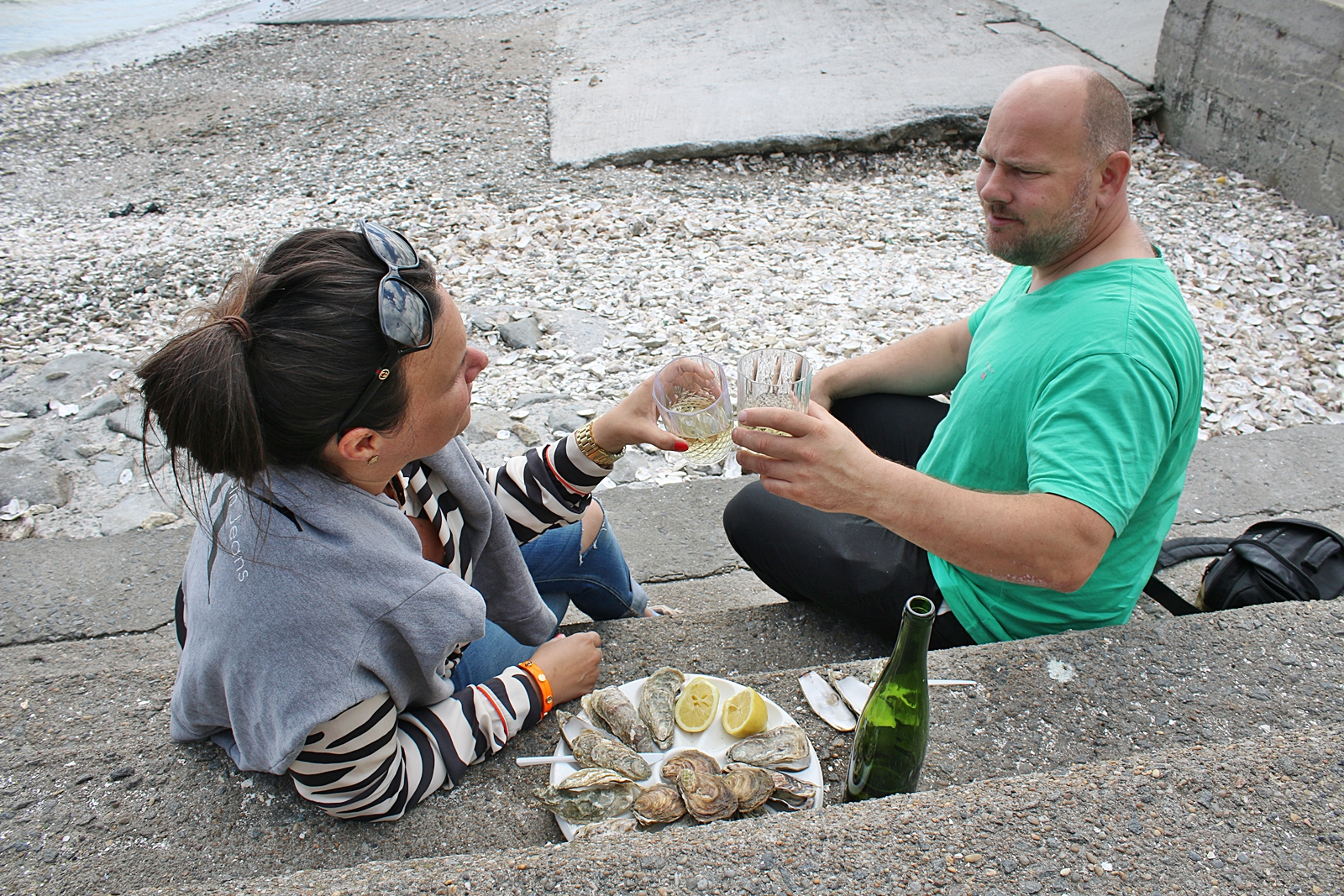 Ostron till frukost i paradiset Cancale