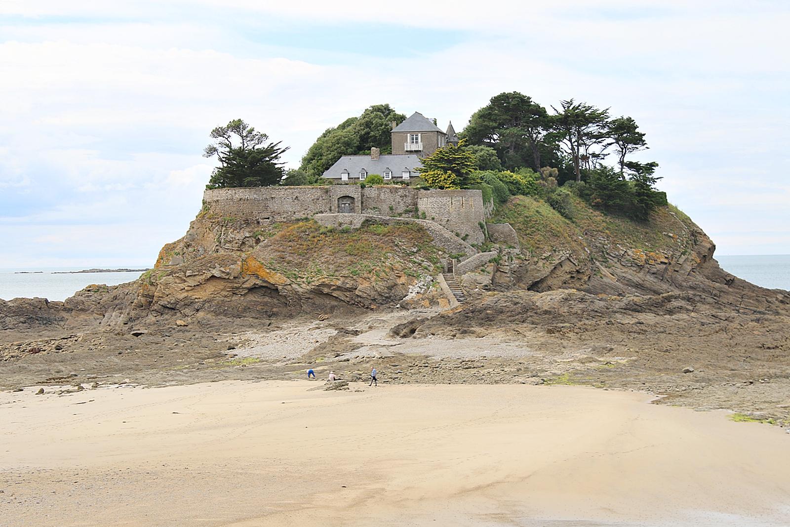 Vackra Fort le fort du guesclin i Frankrike