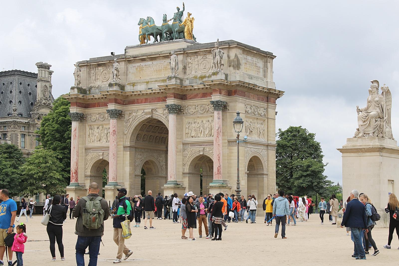 Vi kör en turist, jag visst i Paris dag 2