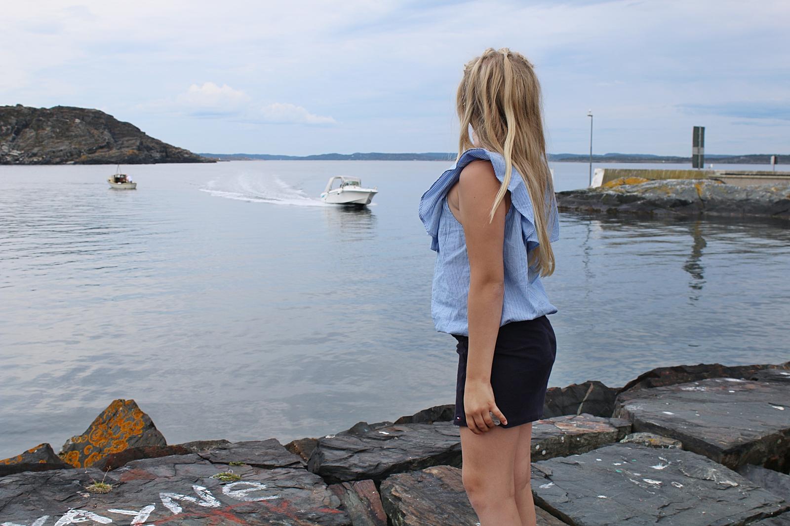 En heldag på ön Åstol med sol och bad