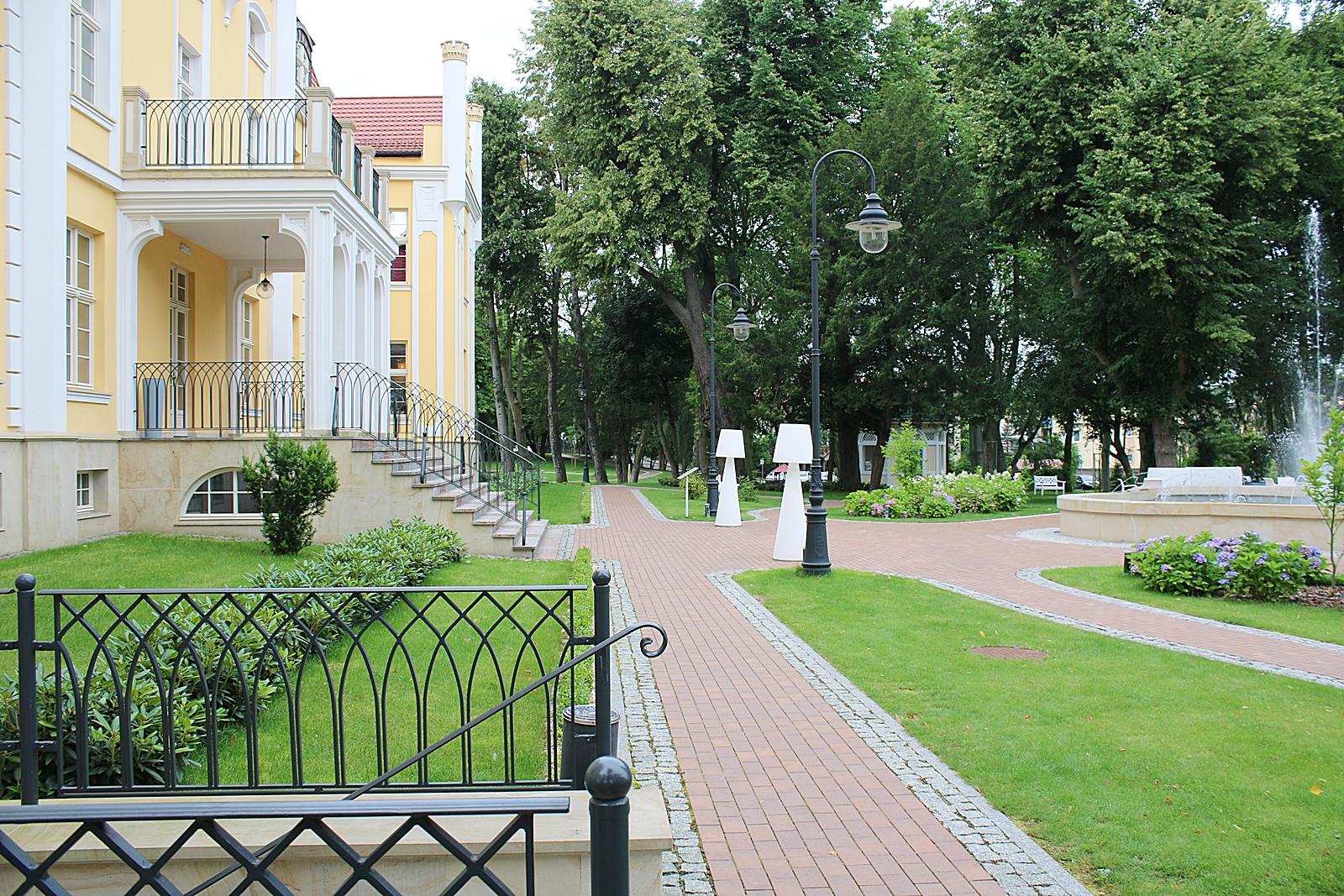 Ett fantastiskt besök på hotellet Bialy Krolik i Gdynia