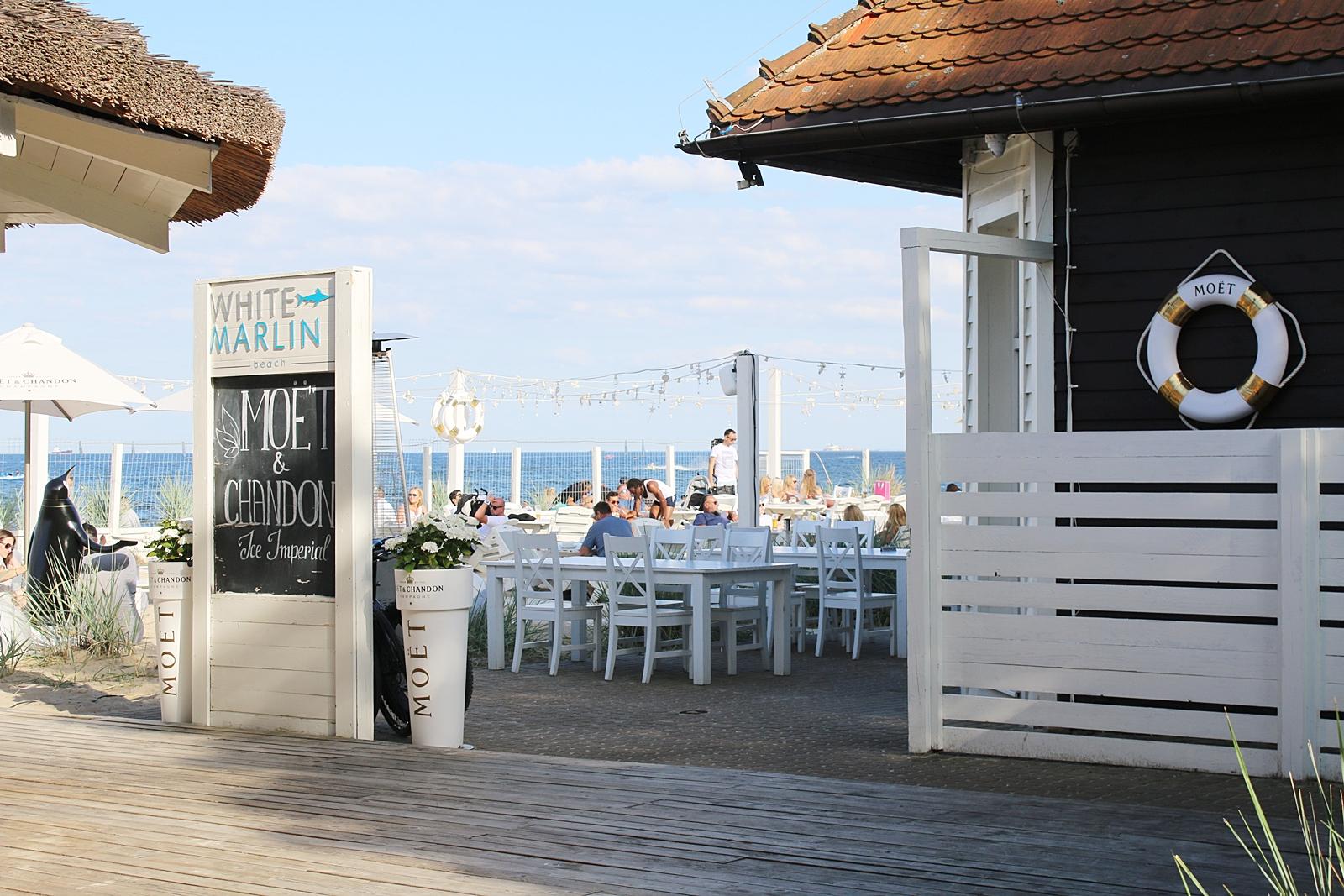 Mitt paradis Marlin beach i Sopot