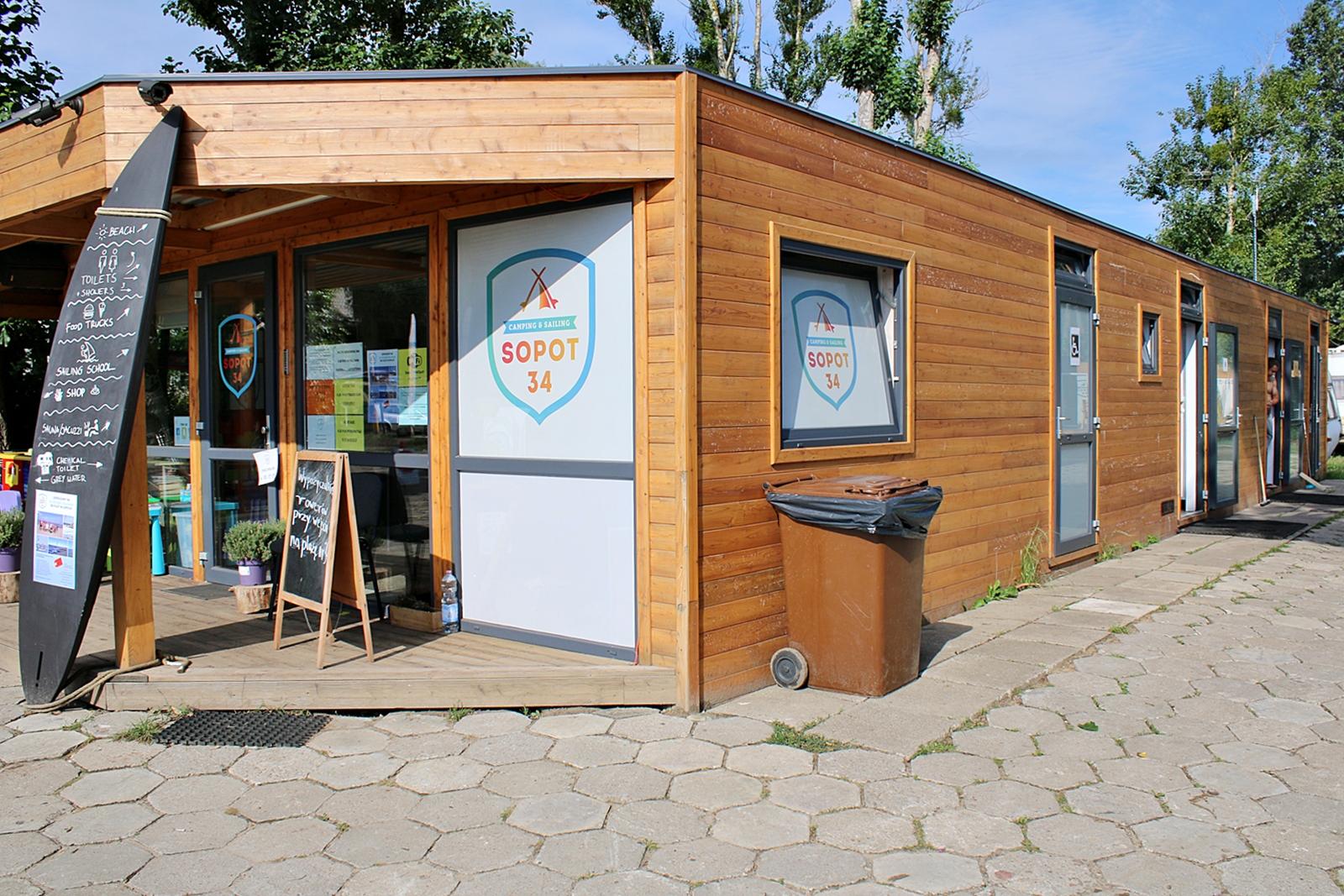 Att campa i Polen är riktigt bra och billigt