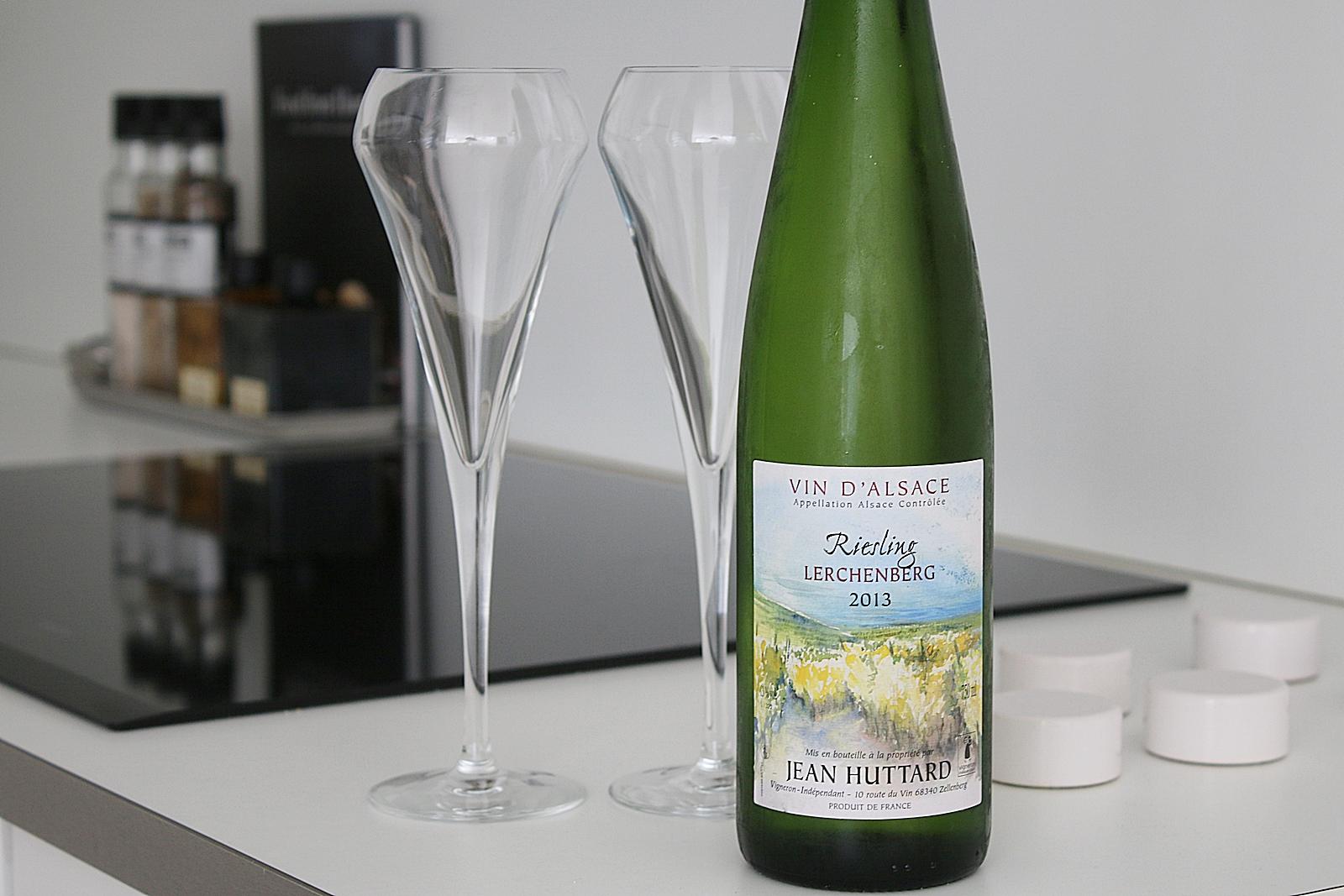 Välkommen lillördag och idag bjuder jag på ett glas vitt vin från Alsace