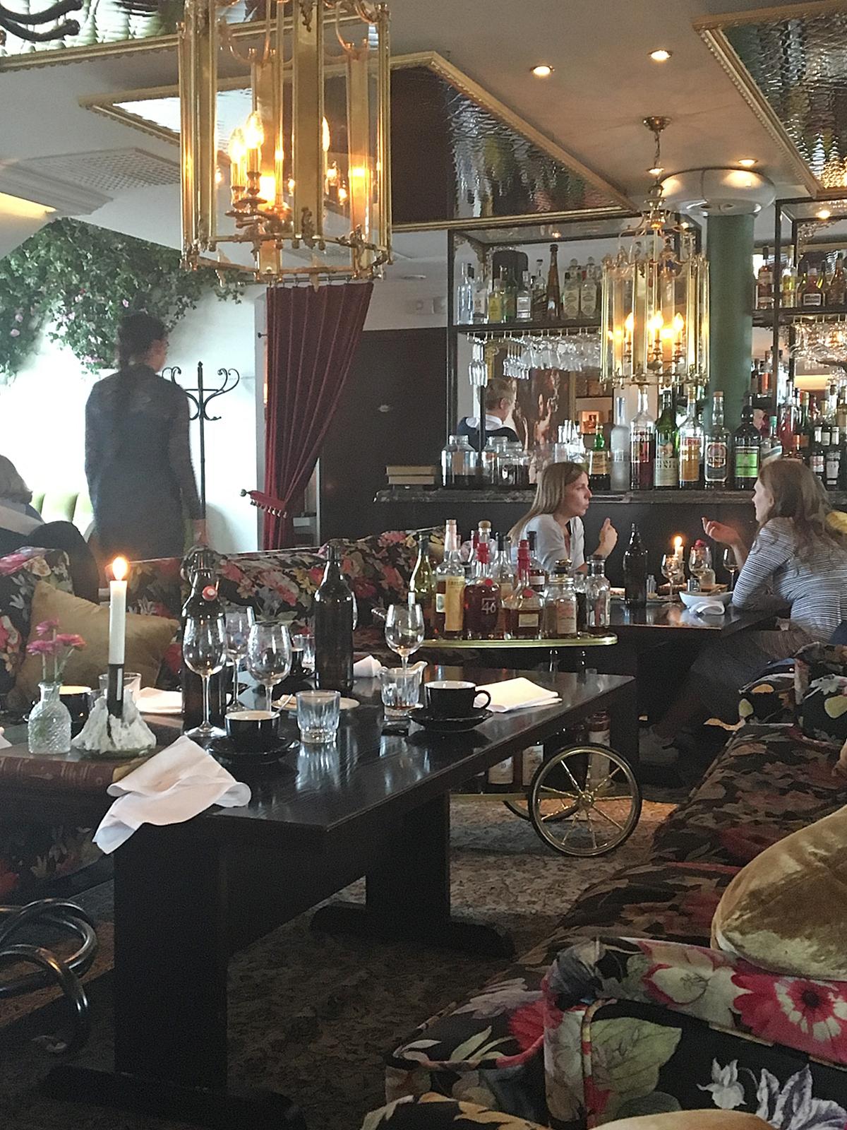 En härlig lunch på Hotell Pigalle i Göteborg