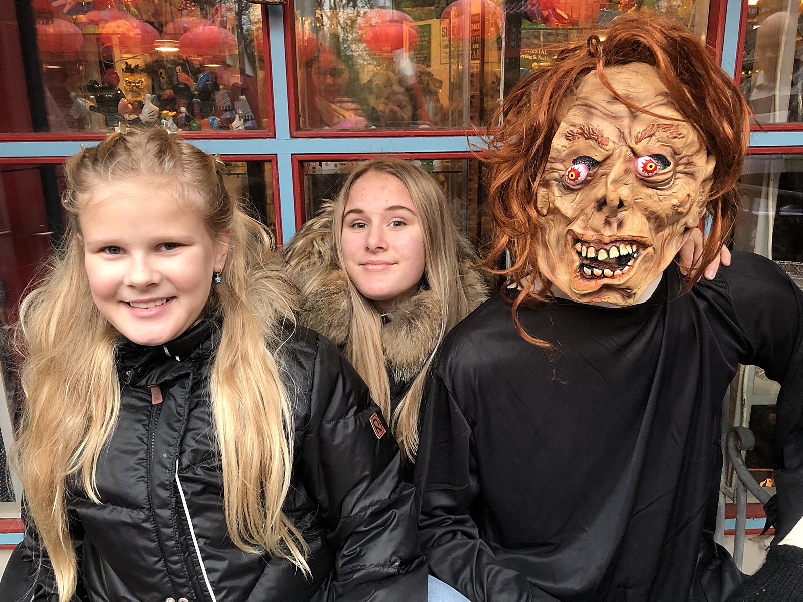 Tivoli Köpenhamn på höstlovet