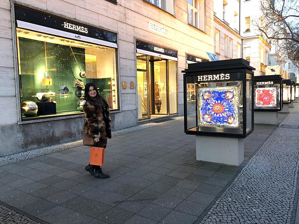 En dag och kväll i soliga Berlin