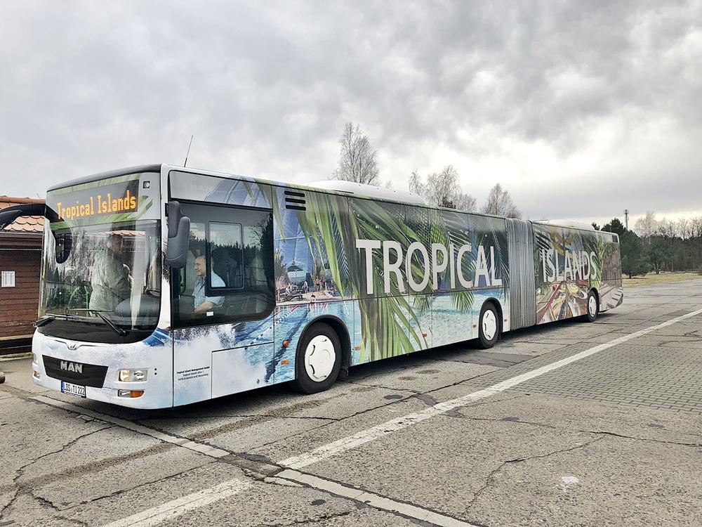 Tips, priser på att campa på Tropical Island
