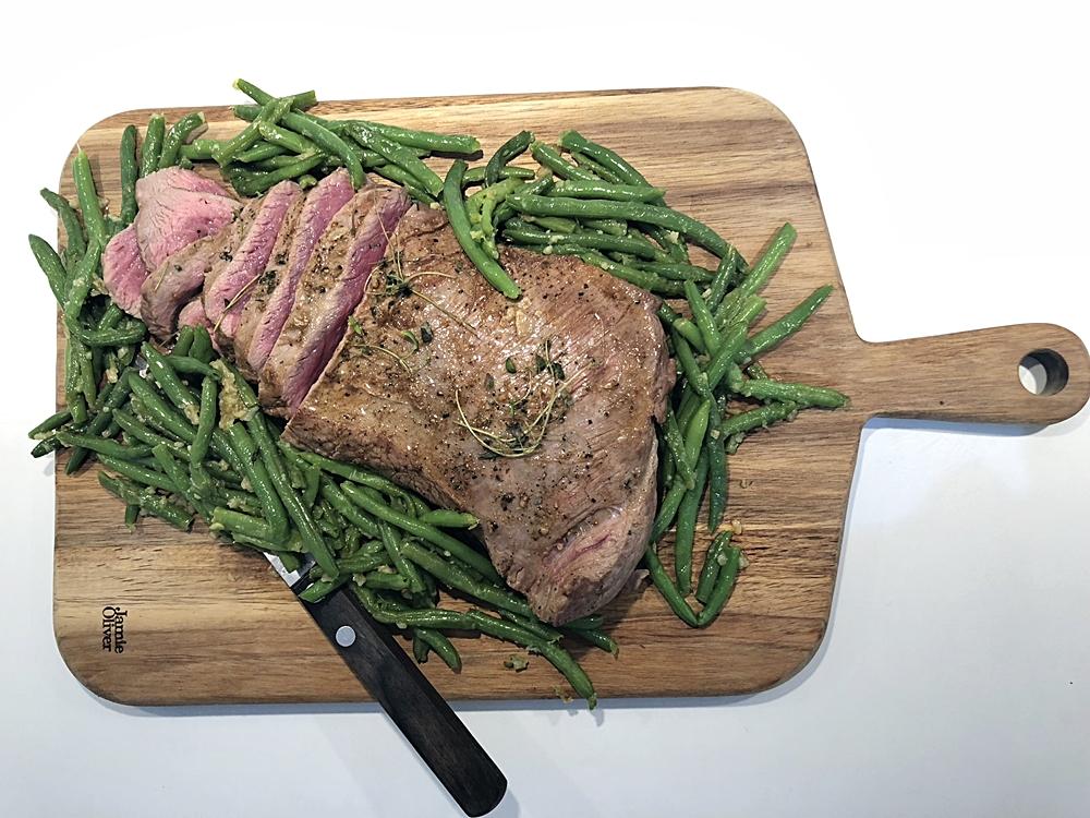 Bra kvalitet på nötkött, så kan du äta det helt rått