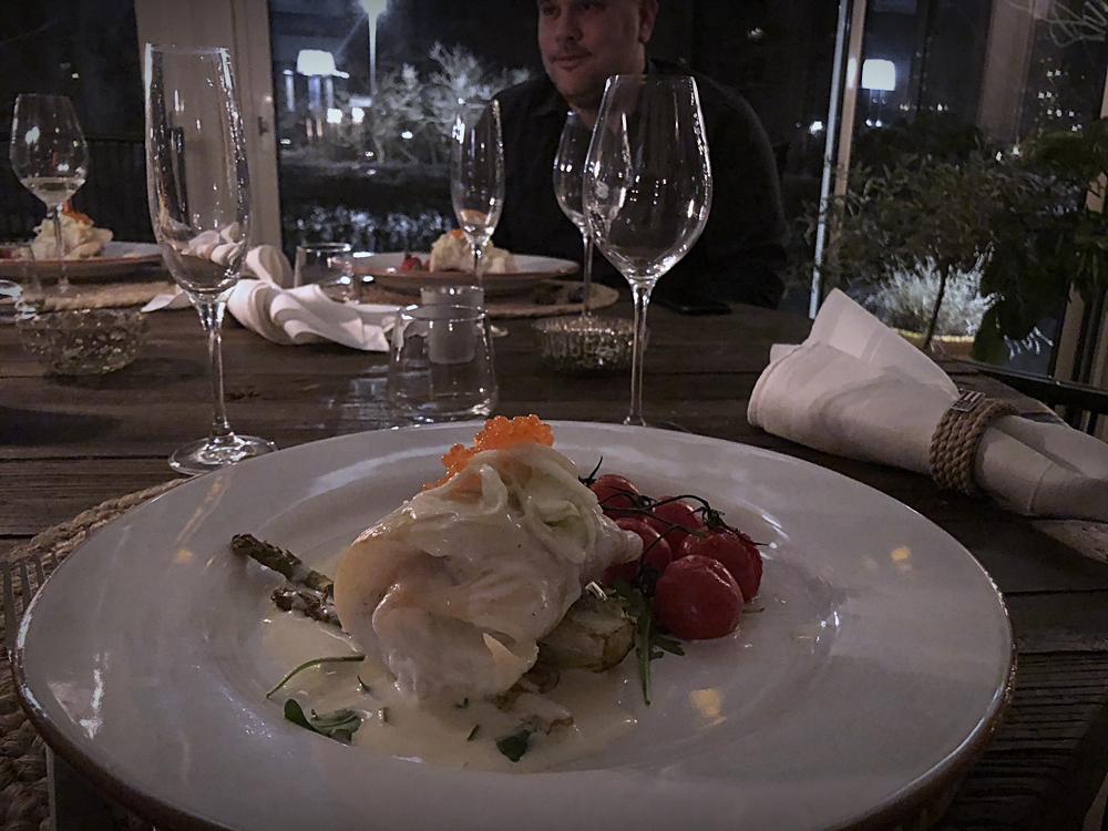 En middag i världsklass och en upplevelse vi aldrig glömmer