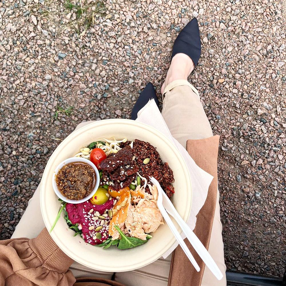 En snabb lunch på Togogo, bästa stället i Göteborg